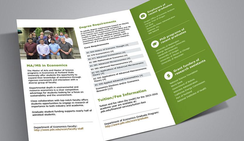 Psu Econ Brochure